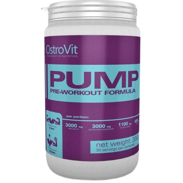 Фото OstroVit PUMP Pre-Workout Formula 300 g