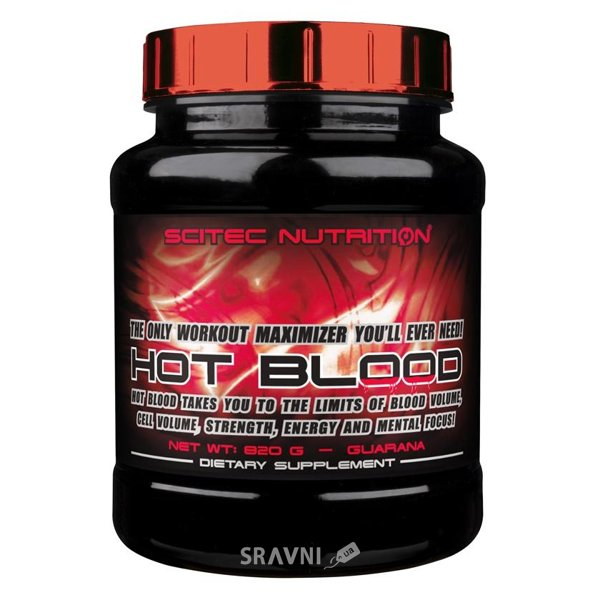 Фото Scitec Nutrition Hot Blood 820 g