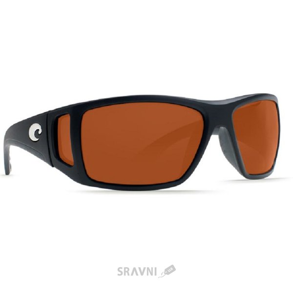 Фото Costa Del Mar Bomba Sunglasses Black/Amber 580P Lenses