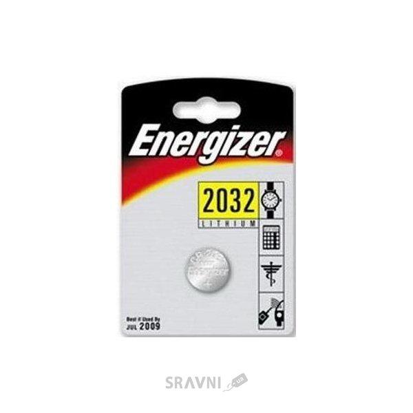 Фото Energizer CR-2032 bat(3B) Lithium 1шт
