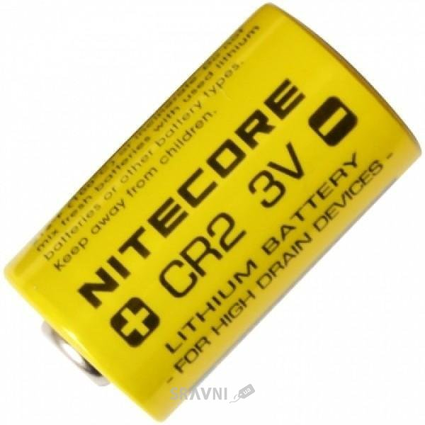 Фото NiteCore CR2 bat(3B) Lithium 1шт