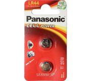 Фото Panasonic LR44 bat(1.5B) Alkaline 2шт (LR-44EL/2B)