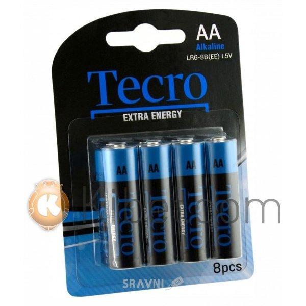 Фото Tecro AA bat Alkaline 8шт Extra Energy (LR6-8B(EE))