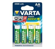 Фото Varta AA 2400mAh NiMh 4шт POWER ACCU (56756101404)