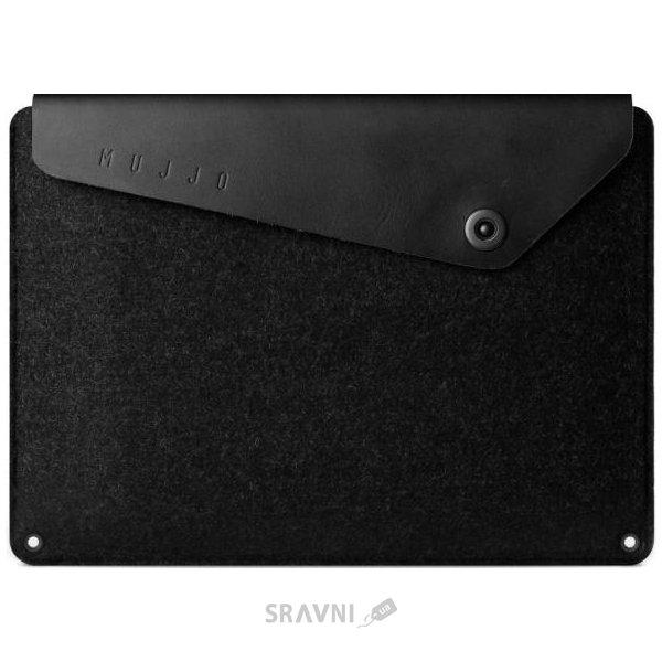 "Фото Mujjo Sleeve Black for Macbook 12"""