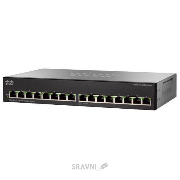 Фото Cisco SG110-16HP