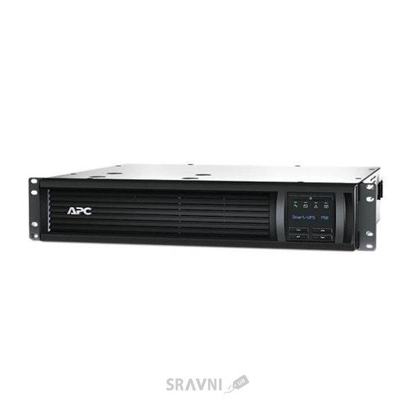 Фото APC Smart-ups 750VA LCD RM 2U 230V
