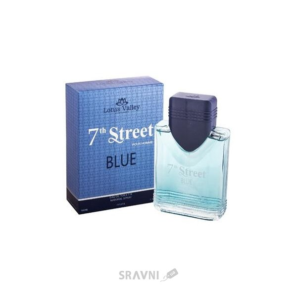 Фото Lotus Valley 7th Street Blue Homme EDT