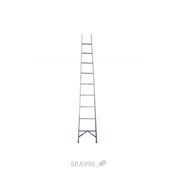 Фото ЗИМ Диэлектрическая лестница приставная 11 ступеней