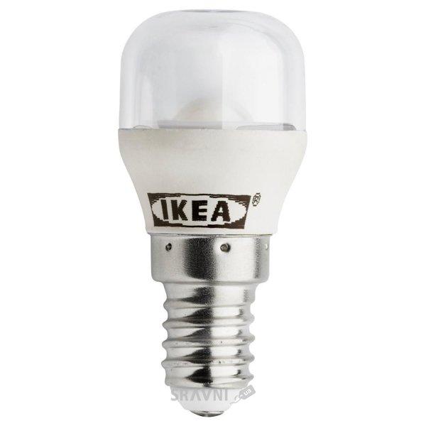 Фото IKEA LEDARE LED bulb E14, sign clear (703.120.84)