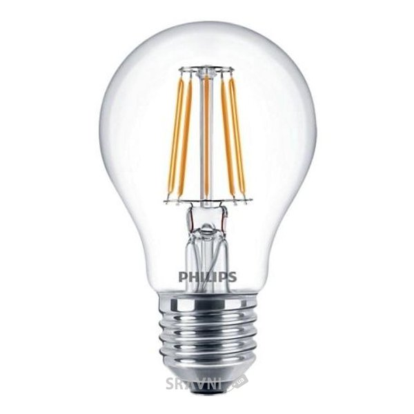 Фото Philips LED Fila ND E27 4.3-50W 2700K 230V A60 1CT APR (929001180407)