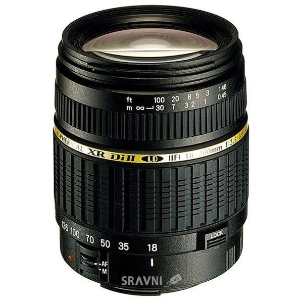 Фото Tamron AF 18-200mm F/3,5-6,3 XR Di II LD Aspherical [IF] MACRO Canon EF