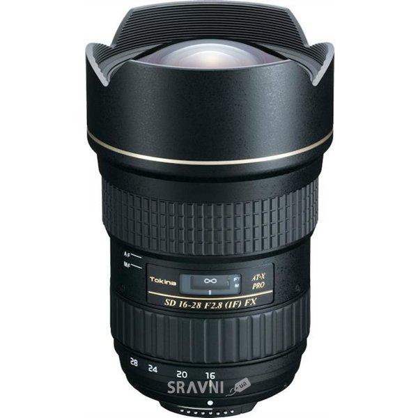 Фото Tokina AT-X 16-28mm f/2.8 Pro FX Canon EF