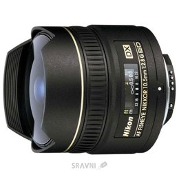 Nikon 10.5mm f/2.8G ED DX Fisheye-Nikkor