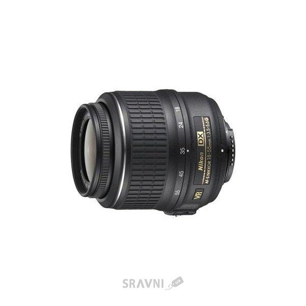 Фото Nikon 18-55mm f/3.5-5.6G AF-S VR DX Zoom-Nikkor