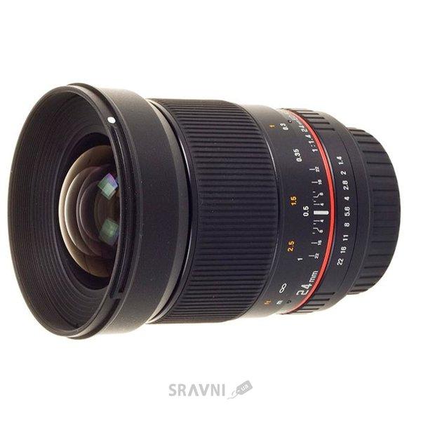 Фото Samyang 24mm f/1.4 ED AS UMC AE Nikon F