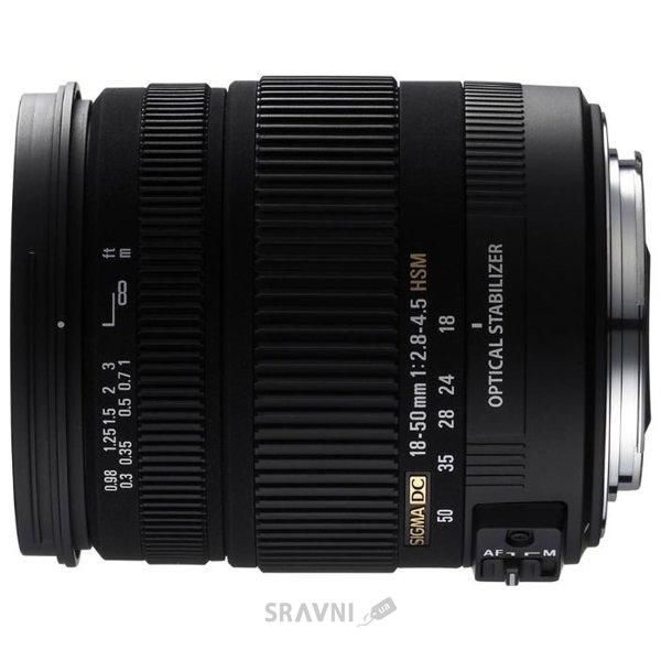 Фото Sigma 18-50mm f/2.8-4.5 DC OS HSM Canon EF-S