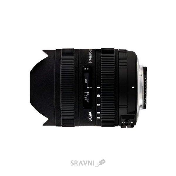 Фото Sigma 8-16mm f/4.5-5.6 DC HSM Sigma SA