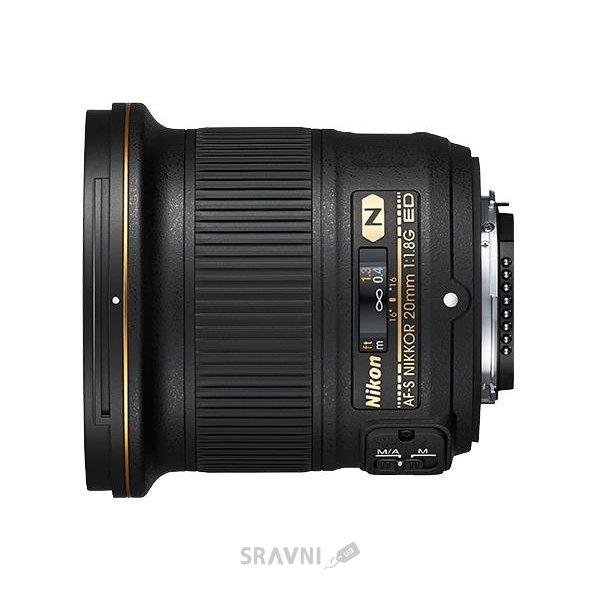 Фото Nikon 20mm f/1.8G ED AF-S Nikkor