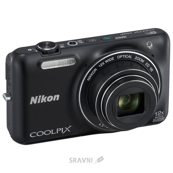 Фото Nikon Coolpix S6600