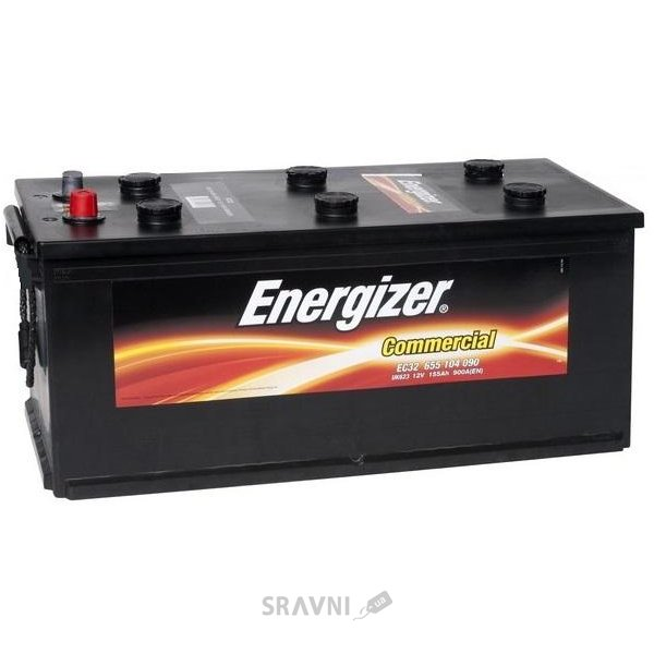 Фото Energizer 6СТ-180 Commercial (EC6)