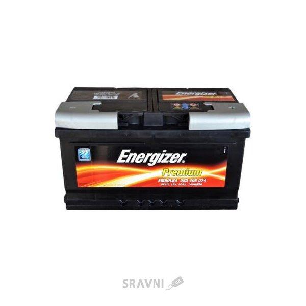 Фото Energizer 6СТ-80 Premium (EN740)