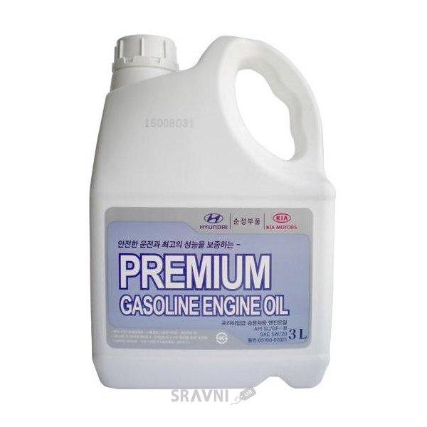 Фото Hyundai Premium Gasoline 5W-20 3л (05100-00321)