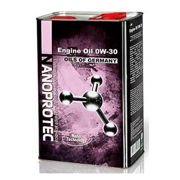 Фото Nanoprotec Engine Oil 0W-30 4л