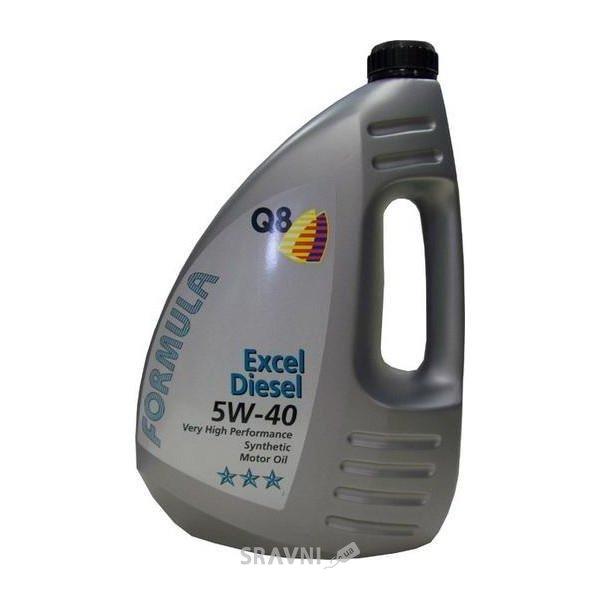 Фото Q8 Formula Excel Diesel 5W-40 4л