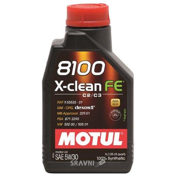 Фото Motul 8100 X-Clean FE 5W-30 1л