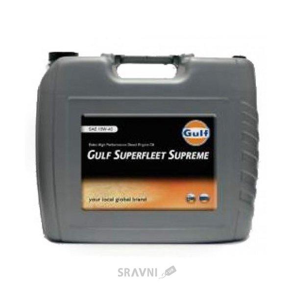 Фото Gulf Oil SUPREME 15W-40 20л