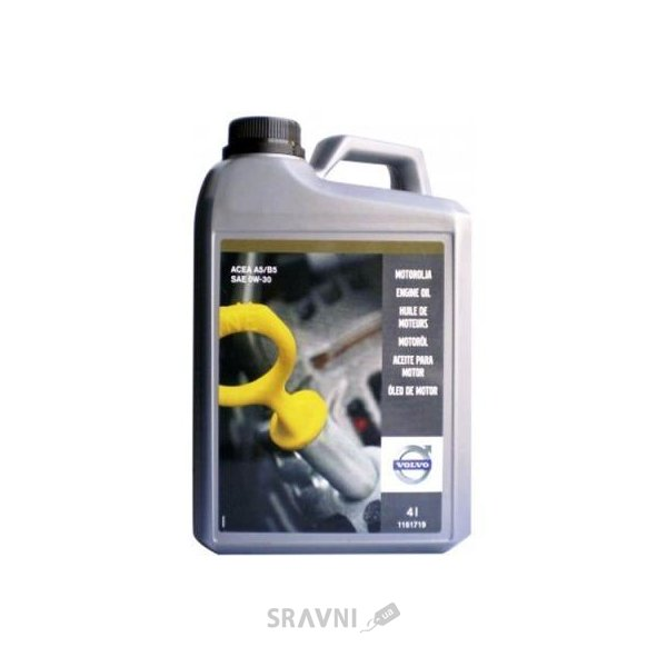 Фото Volvo ENGINE OIL 0W-30 4л (1161719)