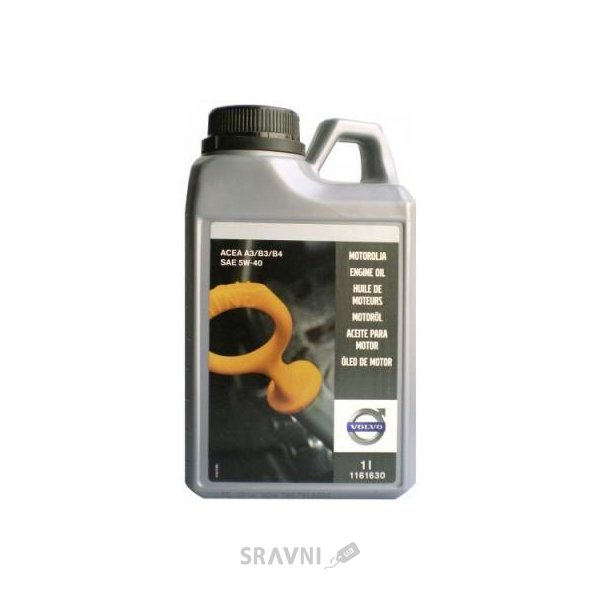 Фото Volvo ENGINE OIL 5W-40 4л (1161631)