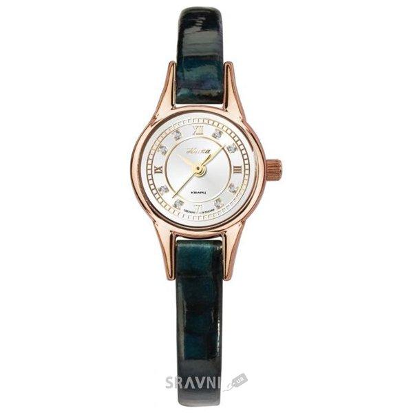 Женские наручные золотые часы в коллекции Фиалка, модель 0303.0.1.47 можно купить по данной цене в магазине