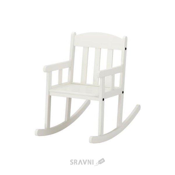 Фото IKEA Sundvik Кресло-качалка, белый (802.017.40)