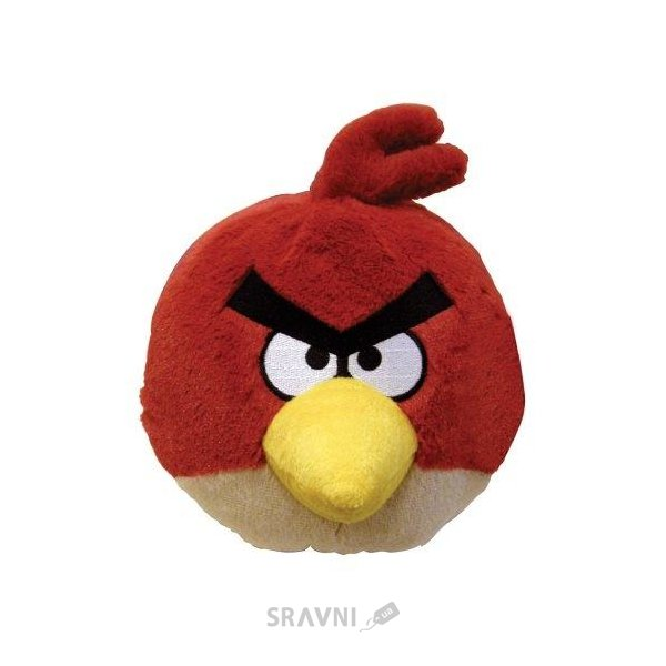 Фото Commonwealth Angry Birds Птичка красная, 12 см, звук (90837)