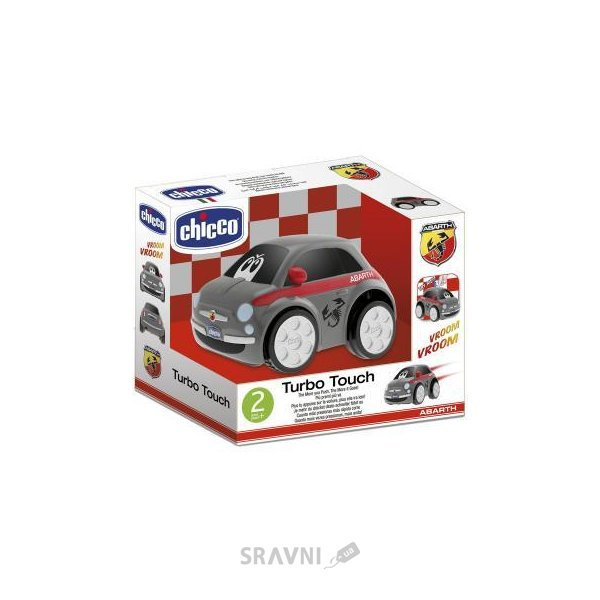 Фото Chicco Машина Fiat 500 Abarth Turbo Touch (07331.00)