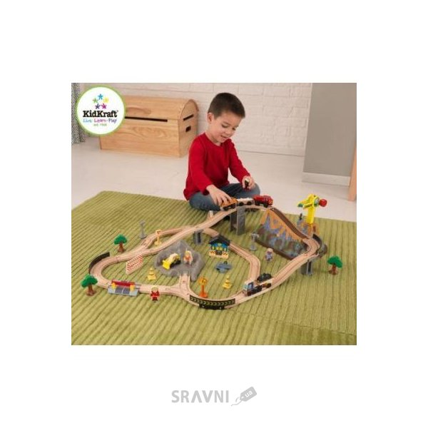Фото Kidkraft Bucket top construction train set (17805)