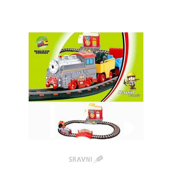 Фото LiXin Железная дорога с поездом 66х36 см (9905)