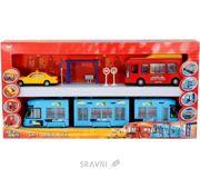 Фото Dickie Toys Металлический городской автобус (3315712)