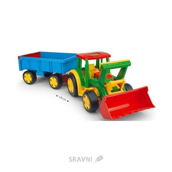 Фото Wader Трактор Гигант с прицепом и ковшом (66300)