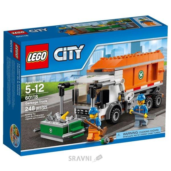 Фото LEGO City Great Vehicles 60118 Мусоровоз