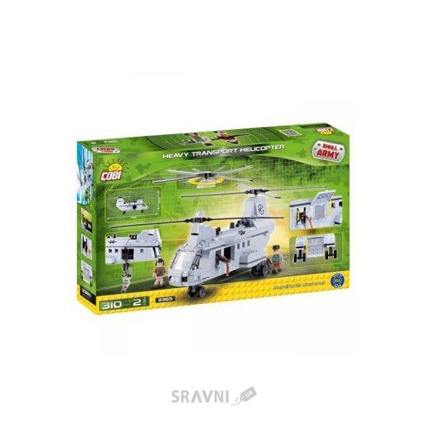 Фото COBI Тяжелый транспортный вертолет 310 деталей (2365)