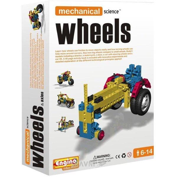 Фото ENGINO Mechanical Science M03 Wheels&Axles