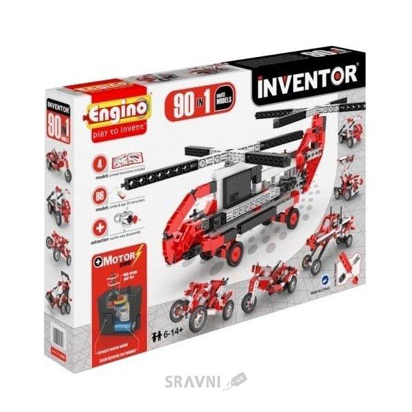 Фото ENGINO Inventor Special Edition 9030 90 моделей с двигателем