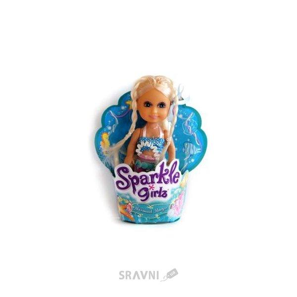 Фото Funville Sparklegirlz Маленькая русалочка (10 см) (FV2400067)