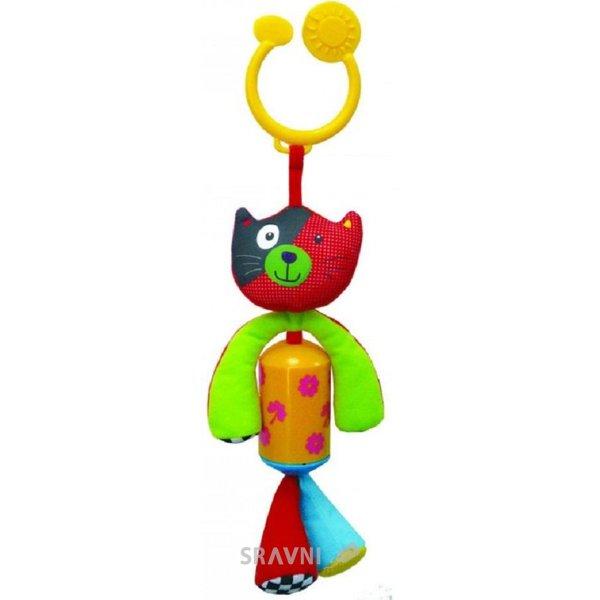 Фото Biba Toys Подвеска Счастливый зайчонок/котенок со звоночком (904HA)