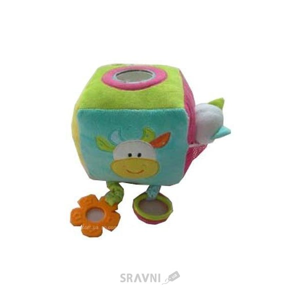 Фото Devik Baby Погремушка Куб со звуком (GH72159)