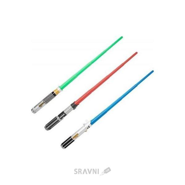 Фото Hasbro Раздвижной световой меч Звездных войн (B2912) (A1189)