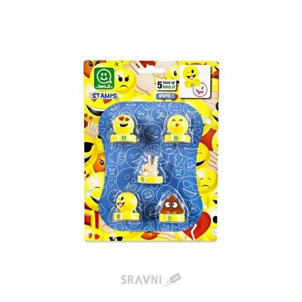 Фото Imoji Набор коллекционных фигурок-штампов S1 Веселое настроение (PMI5040)